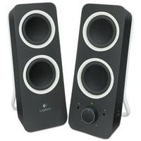 Logitech Z200 Multimedia 2.0 Stereo Speakers, Black