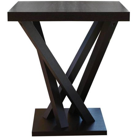 Pleasing Devon Claire Berkshire Espresso Wood Square Bar Table Home Interior And Landscaping Pimpapssignezvosmurscom