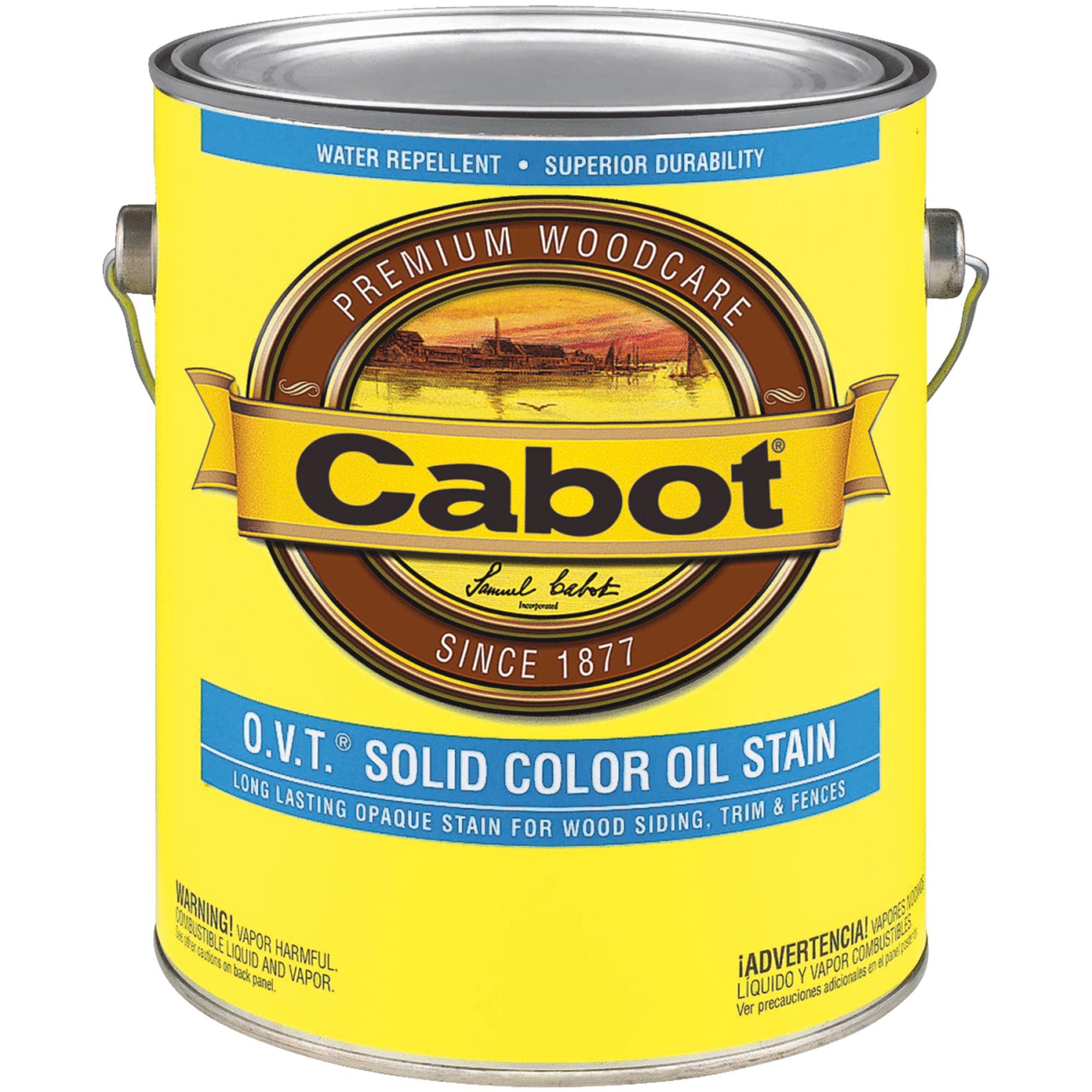 Cabot VOC Compliant O.V.T. Solid Color Exterior Stain