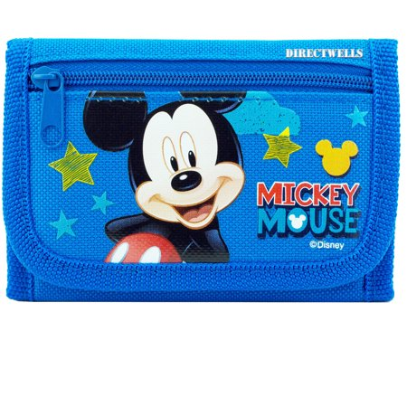 Mickey Mouse Authentic Licensed Blue Star Wallet Authentic Designer Wallets