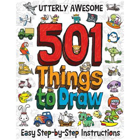 Utterly Awesome 501 Things to Draw - Halloween Things To Draw