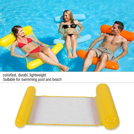 OTVIAP Air Mattress Swimming Pool Beach Inflatable Float Cushion Bed Lounge,Pool Float, Inflatable Lounge Winnie The Pooh Cushion