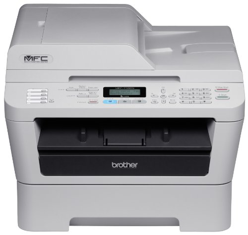 Brother Printer MFC7360N Monochrome Printer with Scanner,...