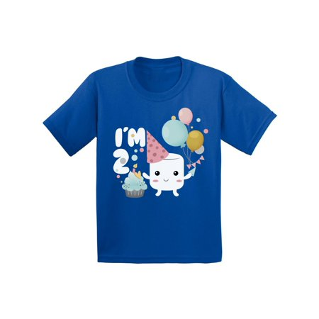Awkward Styles Infant Shirt for Kids Holiday Marshmallow Shirts 2nd Birthday Themed Party Shirt Second Birthday Party Sweet Tshirts for Boys Tshirts for Girls Gift for 2 Year Old 2nd Birthday Shirt - Best Gift For 2 Yr Old Girl