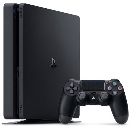 Sony PlayStation 4 1TB Slim Gaming Console, (Best Size Tv For Gaming Ps4)