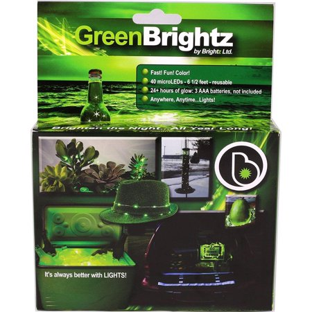 - Everyday Color Brightz LED Light Accessory: Green