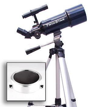 Twinstar EclipseFINDER 80mm Refractor Solar Eclipse Teles...