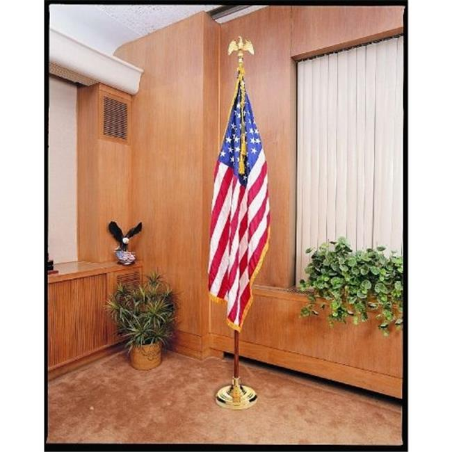 Annin Flagmakers 32225 3 x 5 ft.  Nylon - Glo Us Flag Set