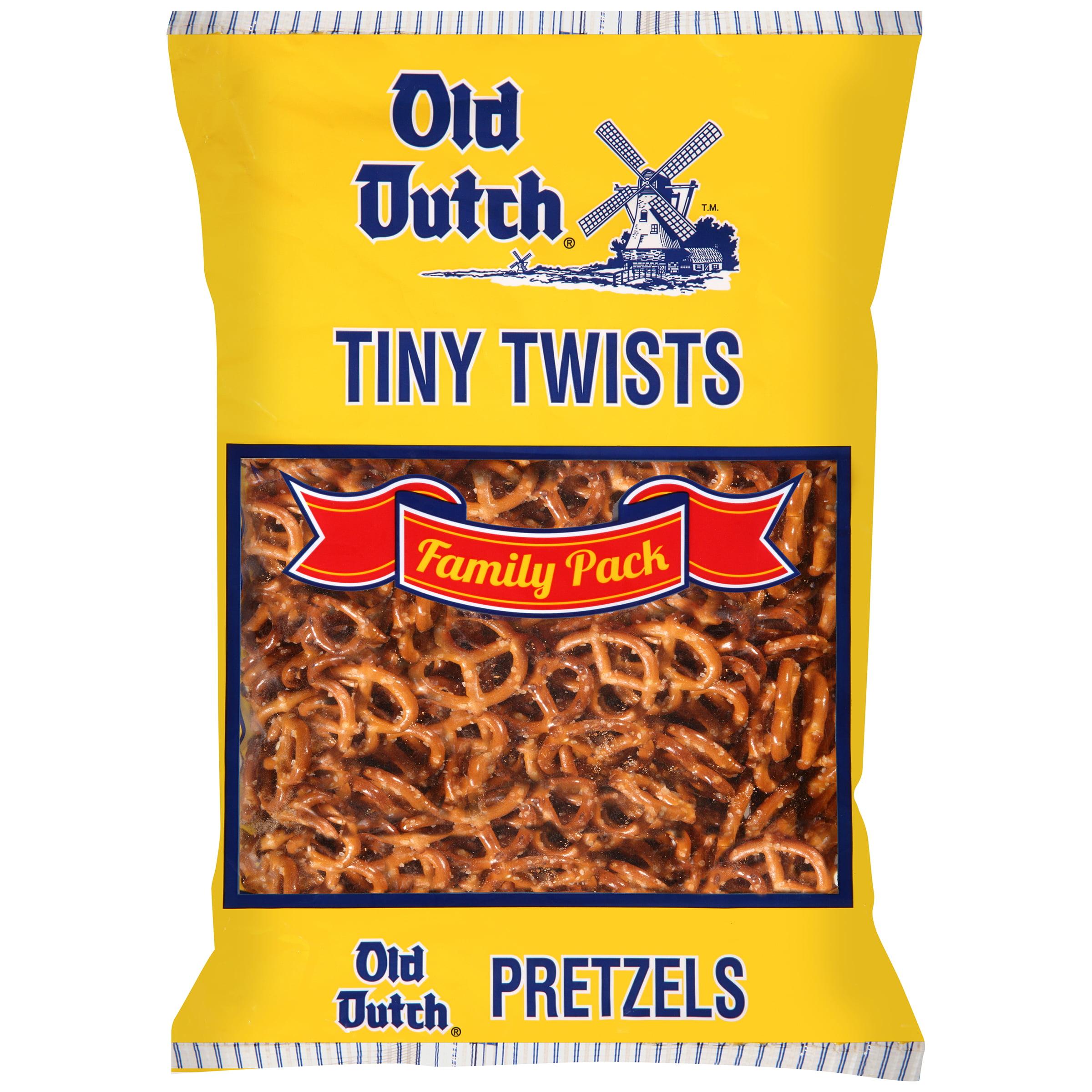 Old Dutch Tiny Twists Pretzels Family Pack, 26 Oz.