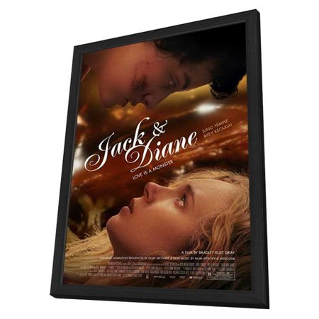 Jack And Diane  2012  11X17 Framed Movie Poster