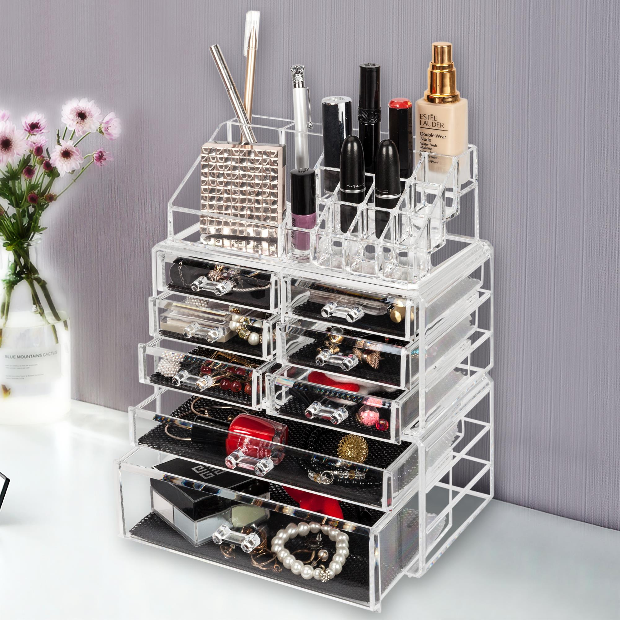 Salonmore Acrylic Cosmetic Table