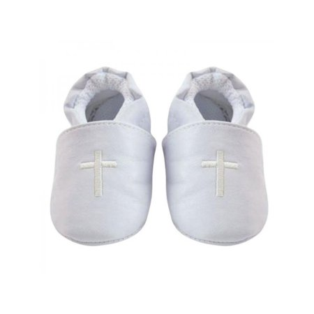 ae0c65cba Newborn Baby Boy Kid Shower Cross Christening Baptism Shoes