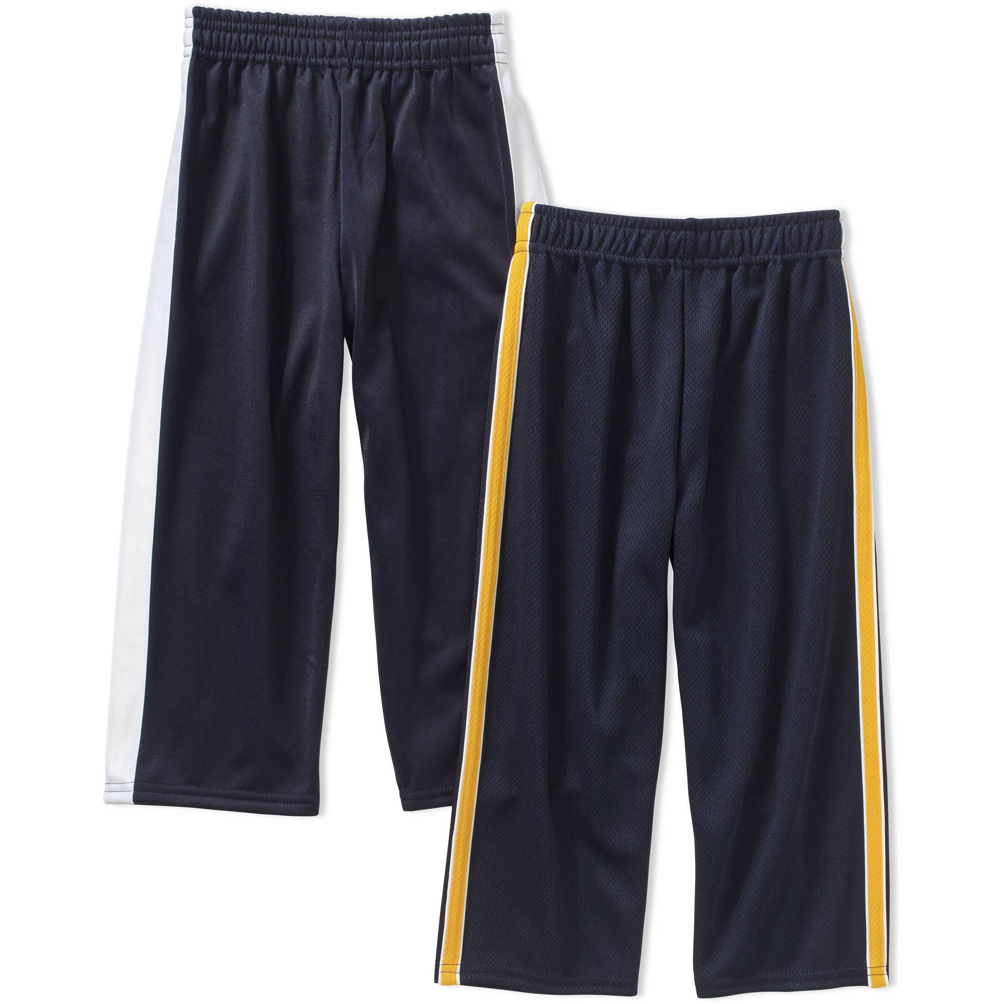 Garanimals Baby Toddler Boys' Mesh and Tricot Pants 2-Piece Set