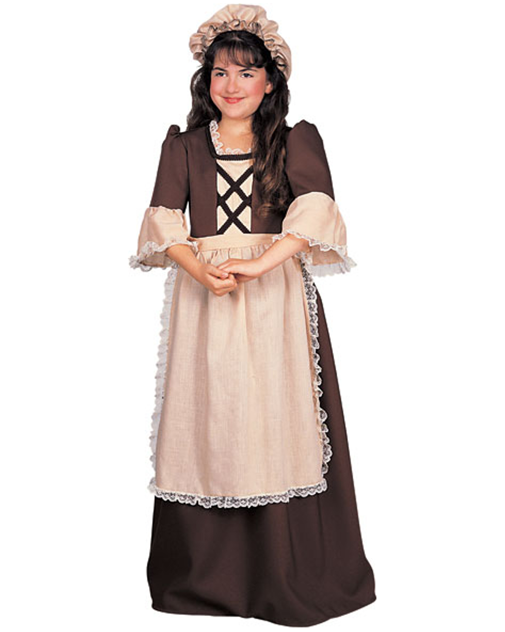 Colonial Girl Child Halloween Costume - Walmart.com