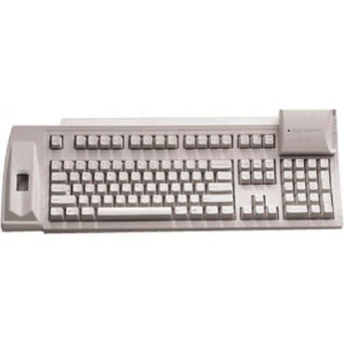 Keytronic 67994 Keyboard F-scan-ksc01us Ps/2 Fingerprint Scanner 104-key W/smart Card Reader Beige