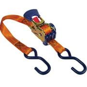 Keeper 05561 Retractable Ratchet Tie Down, 500 lb, 6 ft L x 1 in W