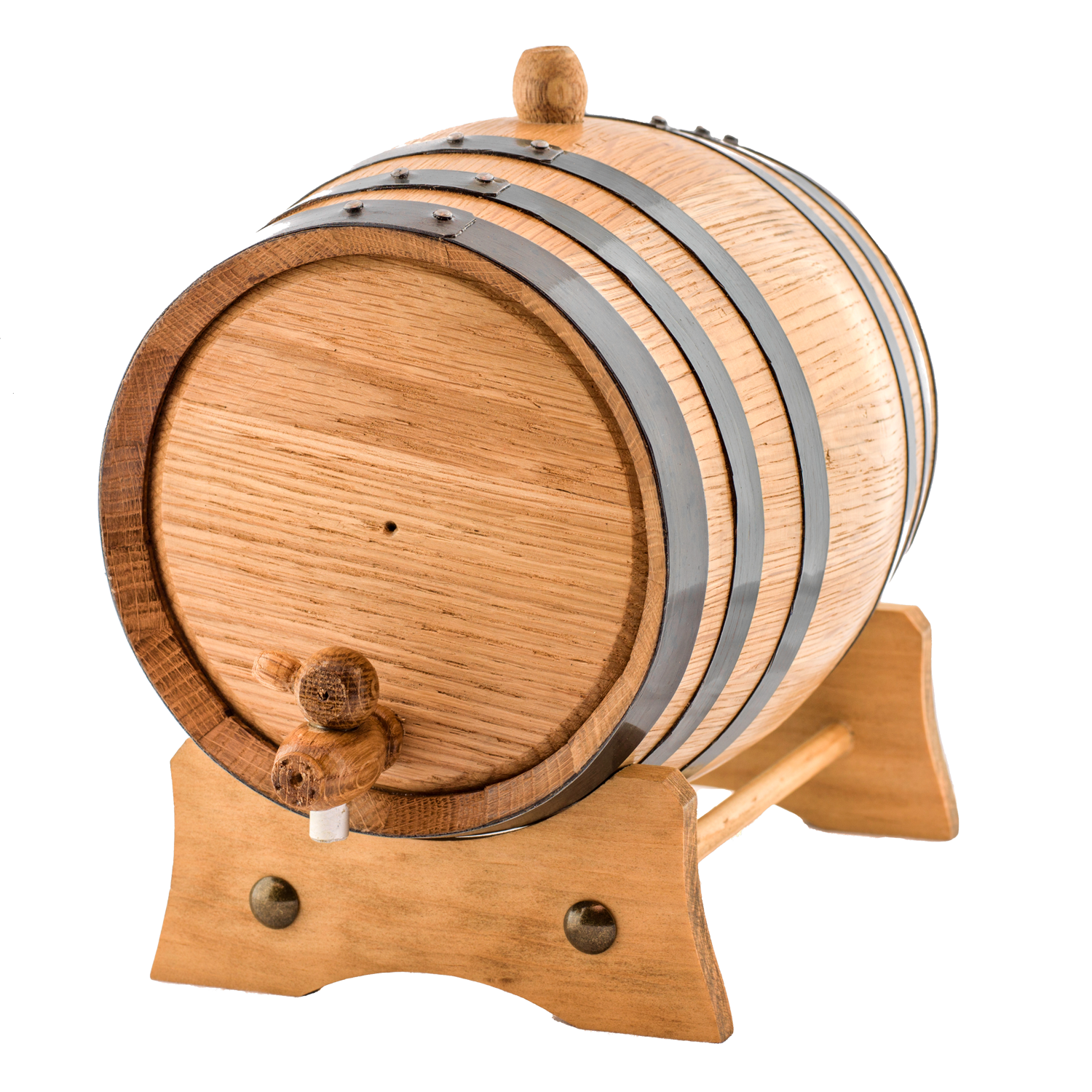 2 Liters American White Oak Wood Aging Barrel | Age your own Tequila, Whiskey, Rum, Bourbon, Wine...