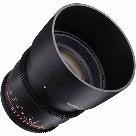 Rokinon 85Mm T1 5 Cine Aspherical Lens For Micro 4 3 Cameras