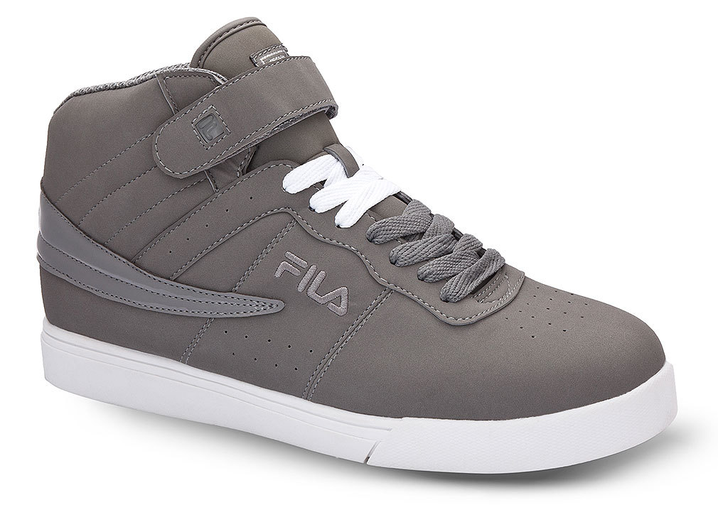 Fila 1VF80060-096 : Men's Vulc 13 Strap Sneakers,Gray (10.5 D(M) US) by Fila USA Inc.