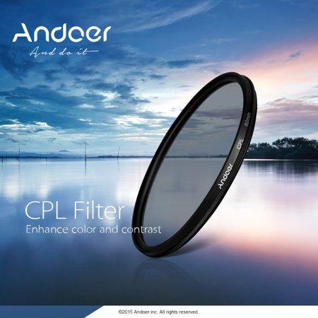 Andoer 40.5mm UV+CPL+FLD Circular Filter Kit Circular Polarizer Filter Fluorescent Filter with Bag for Nikon Canon Pentax Sony DSLR