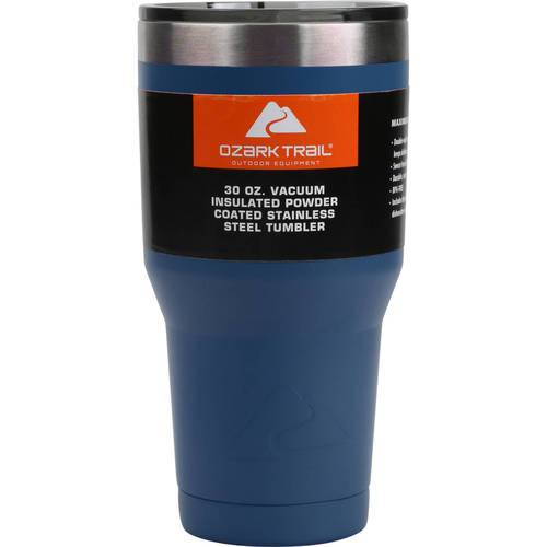Ozark Trail 30-Ounce Double-Wall, Vacuum-Sealed Tumbler by Generic