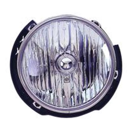 Go-Parts » 2007 - 2015 Jeep Wrangler Front Headlight Headlamp Assembly Front Housing / Lens / Cover - Right (Passenger) 55078148AD CH2503175 Replacement For Jeep (Jeep Headlamp Assembly)