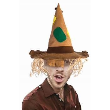 ADULT SCARECROW HAT](Halloween Hats With Hair)