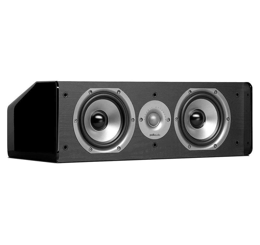 Polk Audio CS10 Black 2-Way Center Channel Loudspeaker by Polk Audio