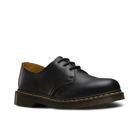 Dr. Martens Men's 1461 3 Eye Shoe,Black Nappa,8 UK 9 M US by Dr. Martens