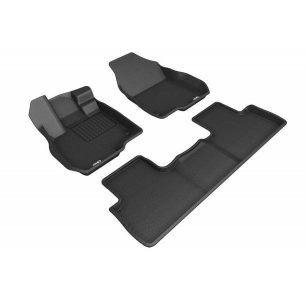 3D MAXpider 2019 Acura RDX 1st 2nd Row Floor Mats Black
