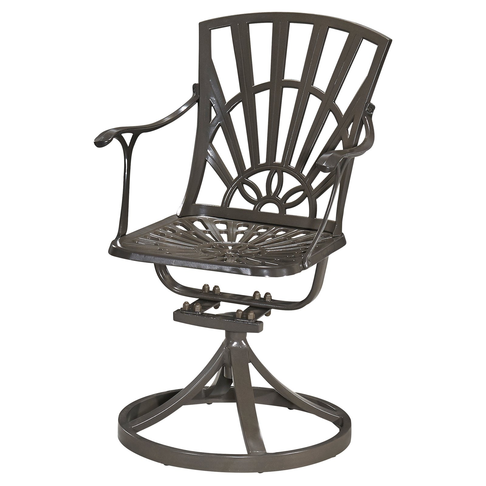 Home Styles Largo Outdoor Swivel Chair