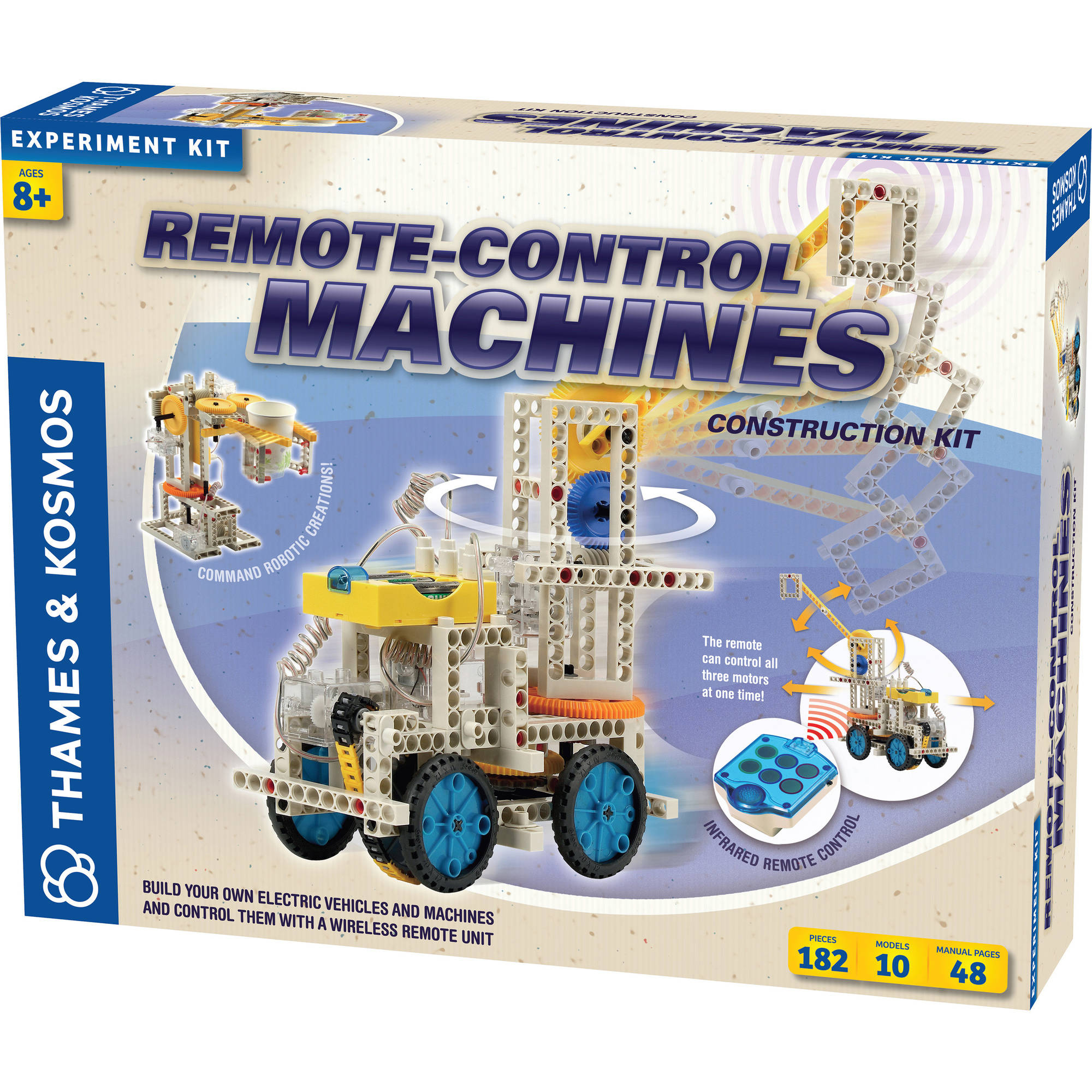 Thames & Kosmos Remote-Control Machines Science Experiment Kit