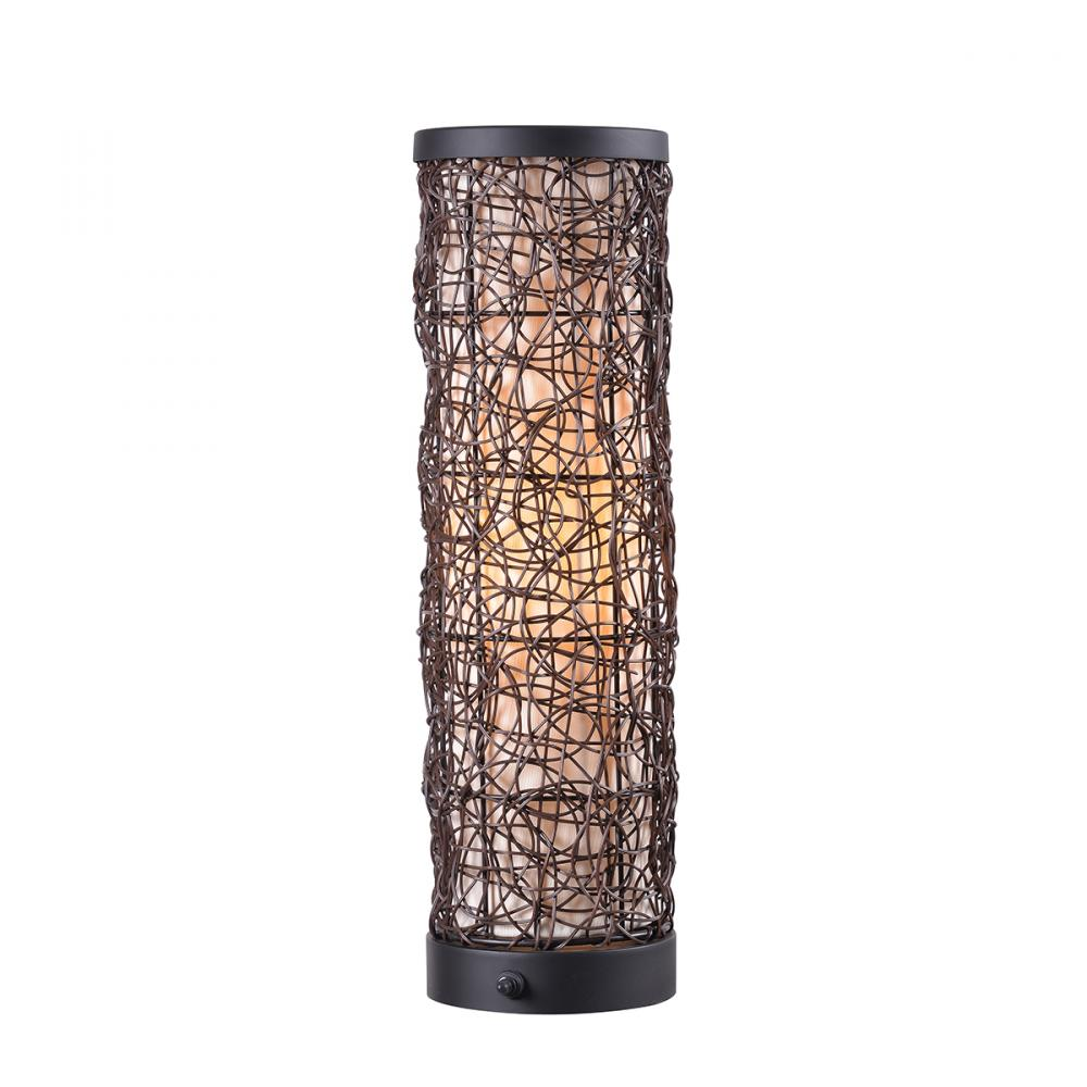 Kenroy Home 35214BRZ Outdoor Table Lamp Uplight