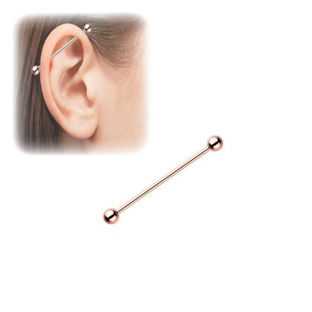 1.5 Industrial Barbell (Industrial Barbell 14G 1.5