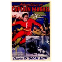 "Adventures of Captain Marvel - movie POSTER (Style A) (27"" x 40"") (1941)"