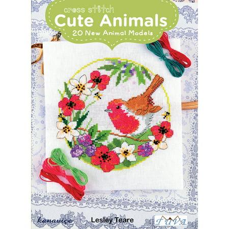 Cross Stitch Cute Animals : 20 New Animal Models](Cute Crosses)
