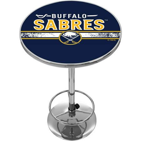 NHL Chrome Pub Table, Buffalo Sabres ()