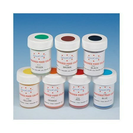 Yellow Powdered Food Coloring 3 Grams by Americolor