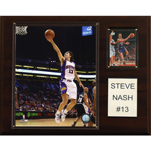 "NBA Steve Nash Phoenix Suns Player Plaque, 12"" x 15"""