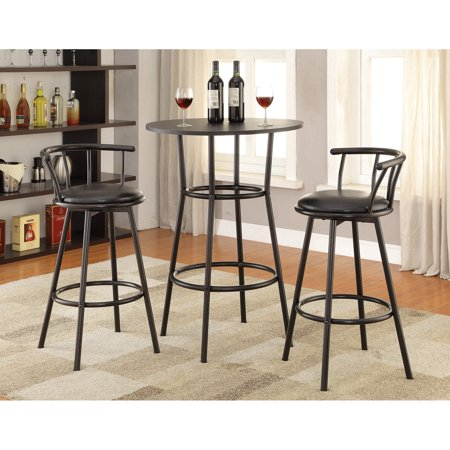Coaster Furniture Modern Minimalist Round Pub Table ()