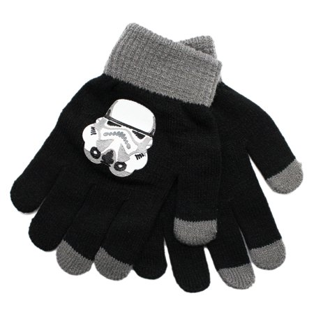 Star Wars Storm Trooper Helmet Graphic Kids Glove Pair for $<!---->