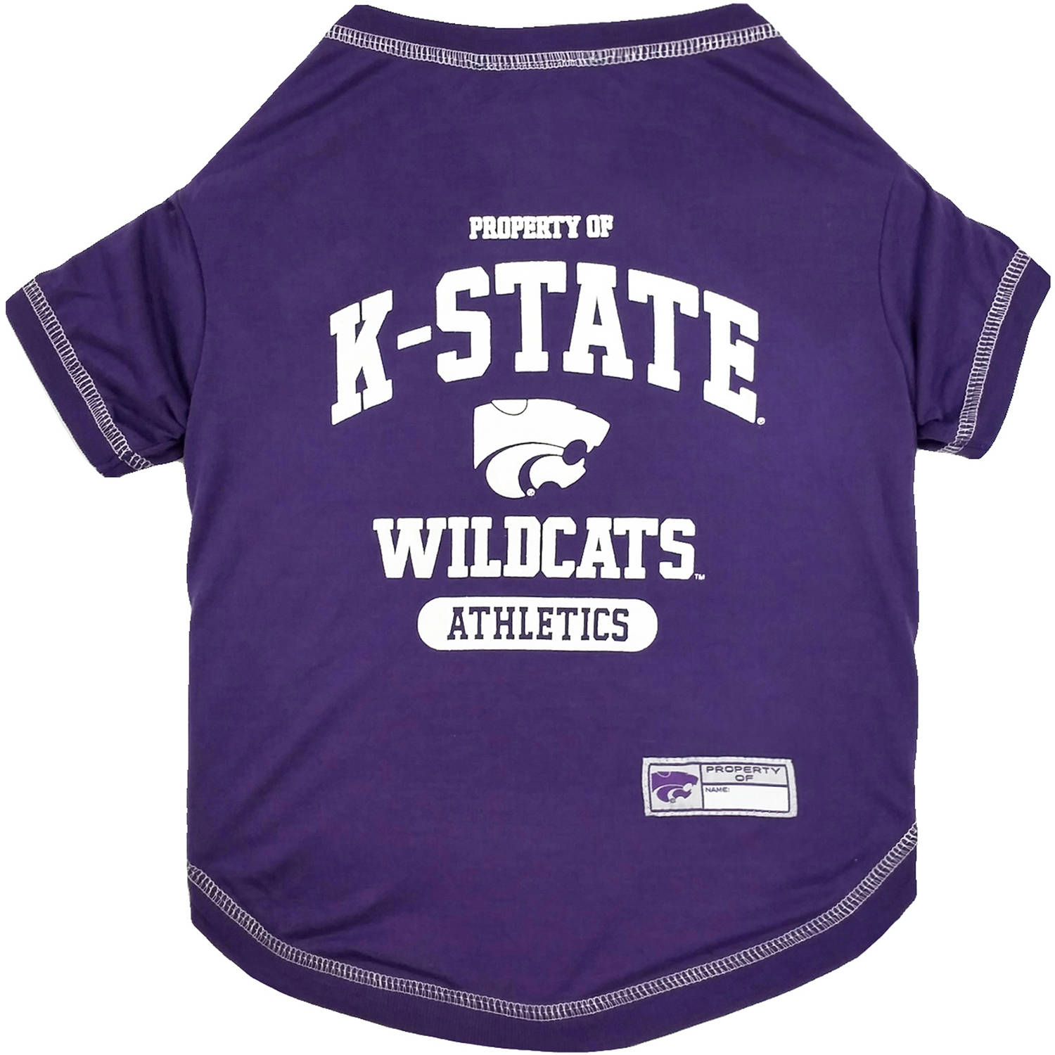 Pets First Collegiate Kansas State Wildcats Pet T-shirt, Assorted Sizes