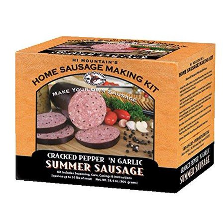 Hi Mountain Jerky Cracked Pepper 'n Garlic Summer Sausage -