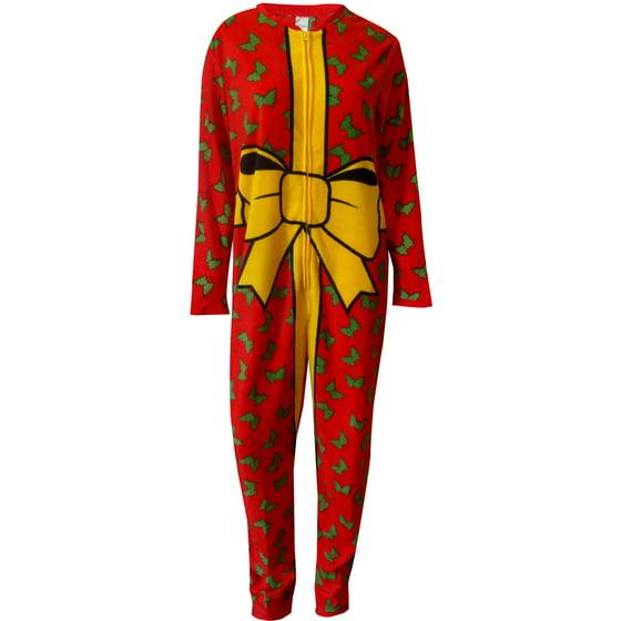 Webundies - The Best Christmas Gift is Me One Piece Union Suit Pajama -  Walmart.com 260ea5e60