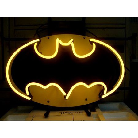 Desung Brand New Batman Super Hero Comics Neon Sign Lamp Glass Beer Bar Pub Man Cave Sports Store Shop Wall Decor Neon Light 20