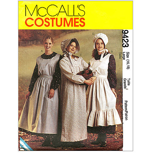 McCall's Misses' Pioneer Costumes, (S)