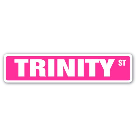 Trinity Sticker (Trinity Street [3 Pack] of Vinyl Decal Stickers | Indoor/Outdoor | Funny decoration for Laptop, Car, Garage , Bedroom, Offices |)