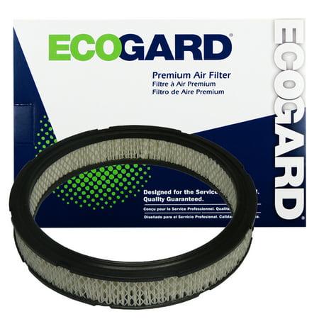 ECOGARD XA120 Premium Engine Air Filter Fits Ford LTD, Ford Granada, Mustang, Thunderbird, F-100; Lincoln Continental; Mercury Cougar, Marquis, Capri