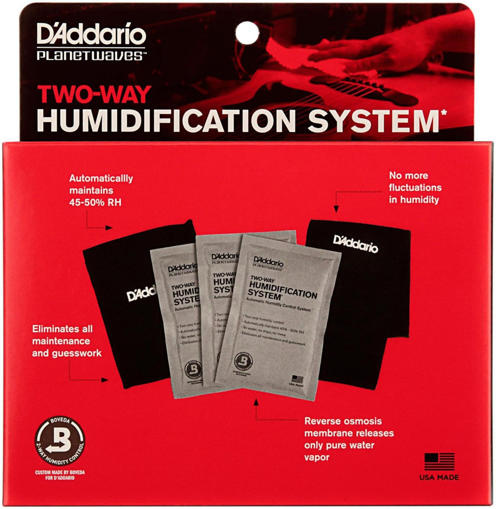 D'Addario Planet Waves D'Addario Planet Waves Two-Way Humidification System Black by D'Addario Planet Waves