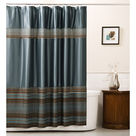 mark fabric shower curtain blue. Black Bedroom Furniture Sets. Home Design Ideas